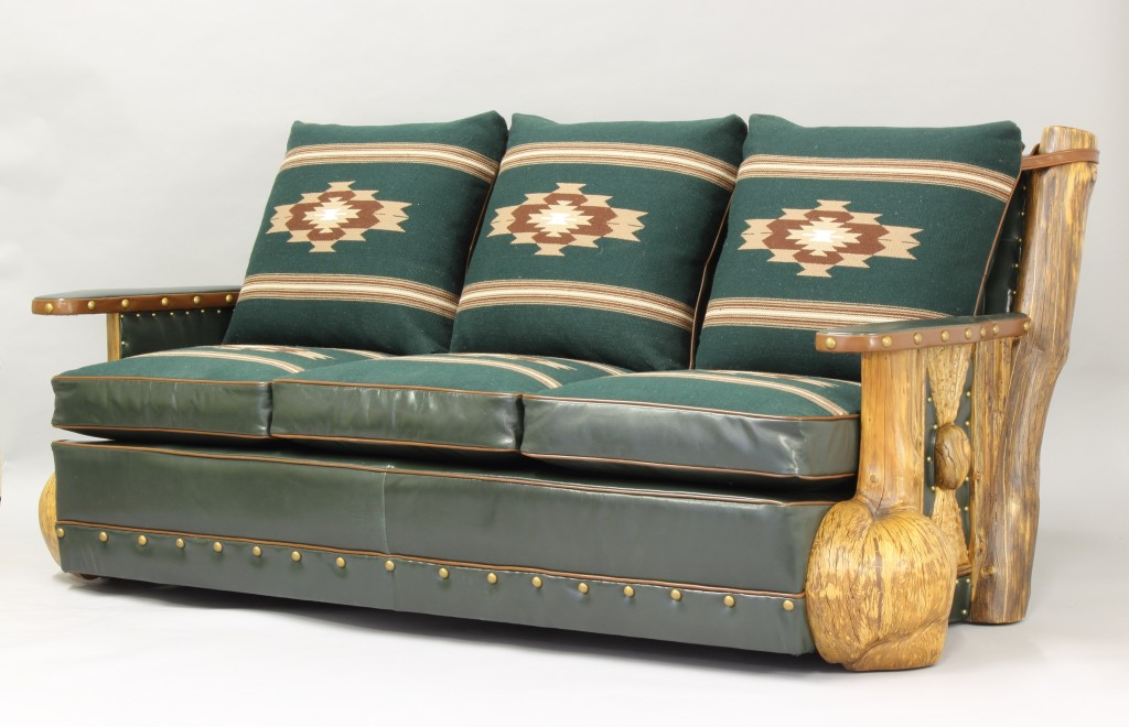 Burl Leg couch