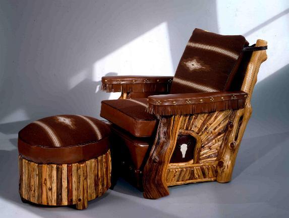 Juniper Club Chair and Ottoman