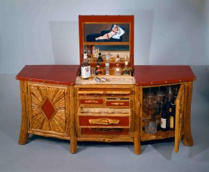 Then Long Branch Liquor Cabinet