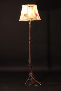 Antique Rfle Floor Lamp
